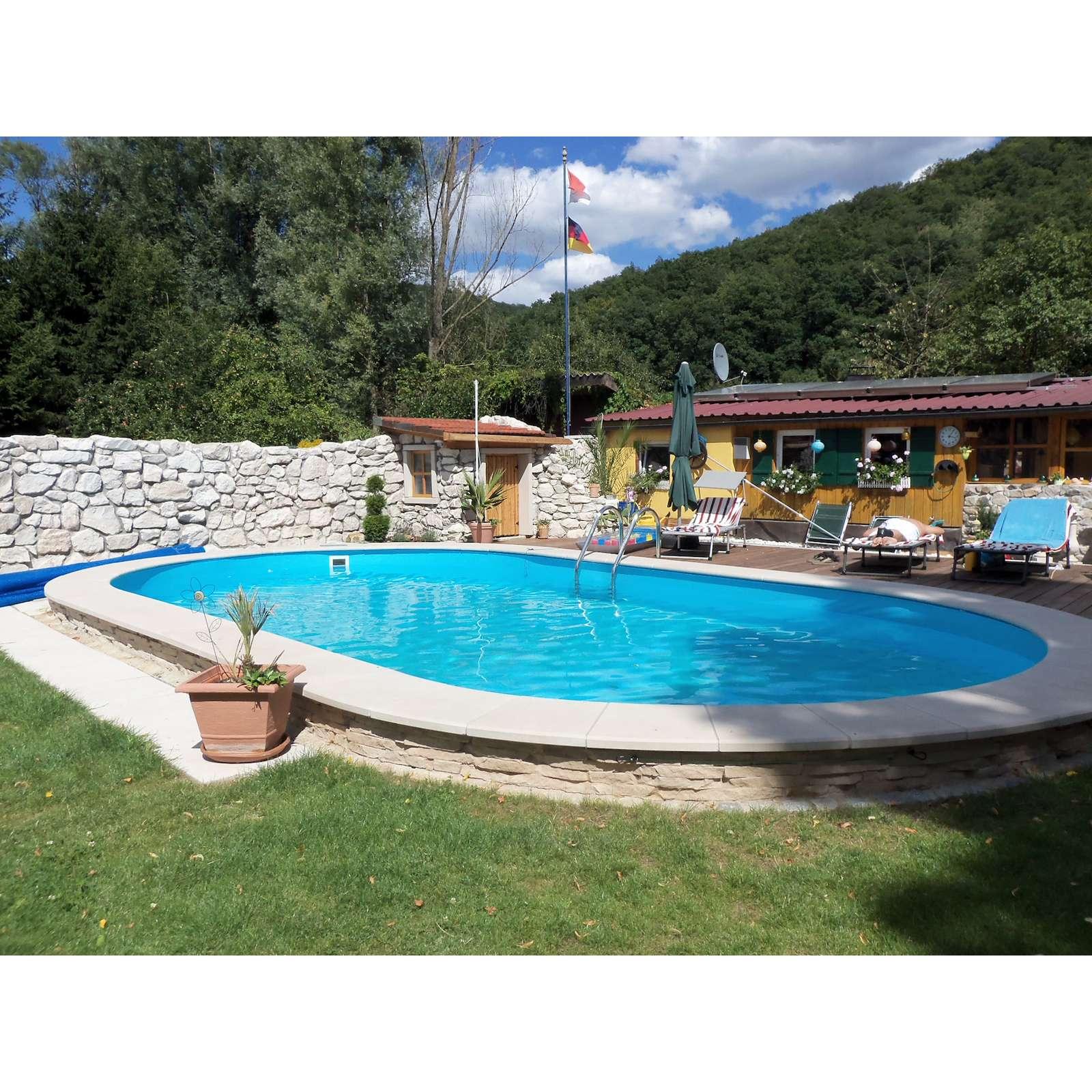 pool schwimmbecken oval stahlwand 3 gr en h he 120 cm. Black Bedroom Furniture Sets. Home Design Ideas