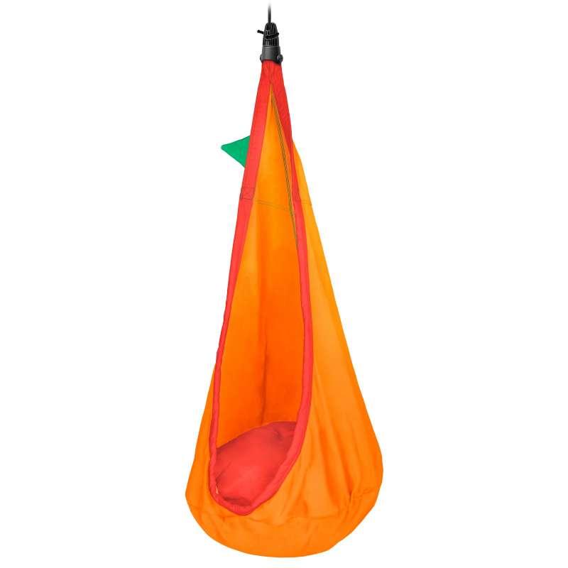 La Siesta Kinder-Hängehöhle Foxy Lilli Farbe aus Bio-Baumwolle inkl.Befestigungsset