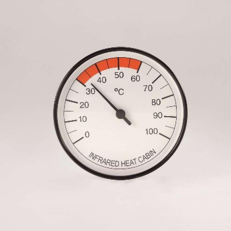 Infraworld Thermometer für Infrarotkabinen 100 mm Infrarotzubehör W4402