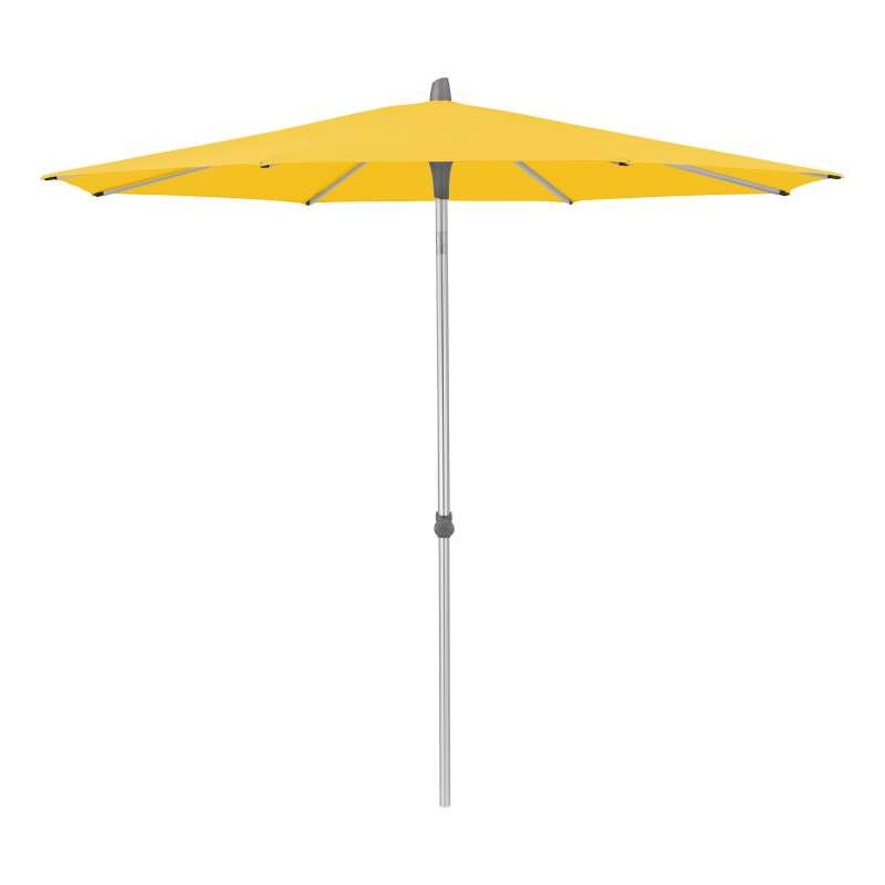 GLATZ Sonnenschirm ALU-SMART easy rund 2 Größen 250 / 300 cm Stoffklasse 2 Bright Yellow 146