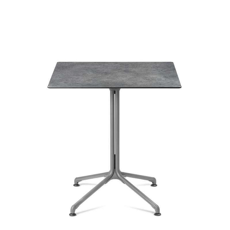 Lafuma Horizon Tisch Objektmöbel Loungetisch ca. 70x70x74,5 cm Mineral