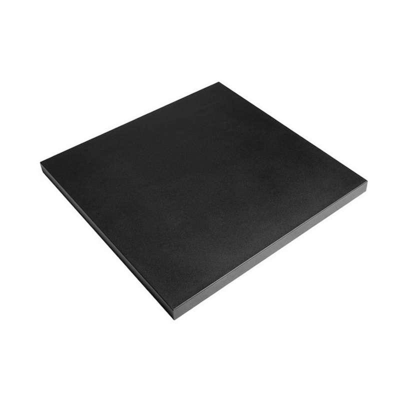 Happy Cocooning Mania Deckel schwarz für quadratische Feuertische groß Schutzabdeckung 81,5x81,5x5 c