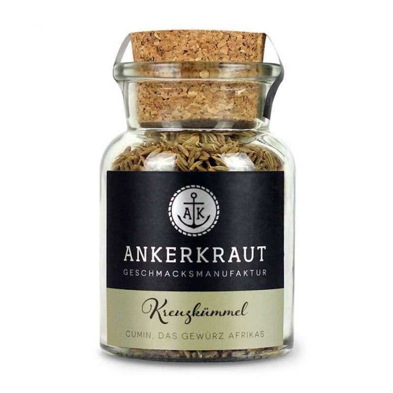 Ankerkraut Kreuzkümmel ganz Gewürz Korn Grillgewürz Korkenglas 65 g