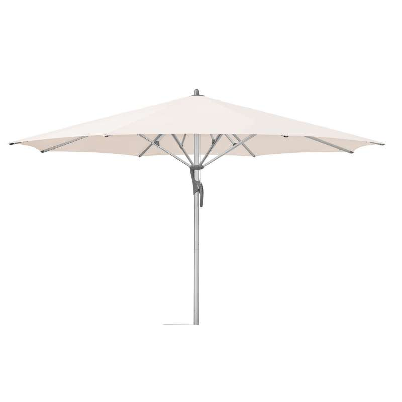 GLATZ Sonnenschirm FORTELLO® LED rund ø 450 cm Stoffklasse 4 Vanilla 453