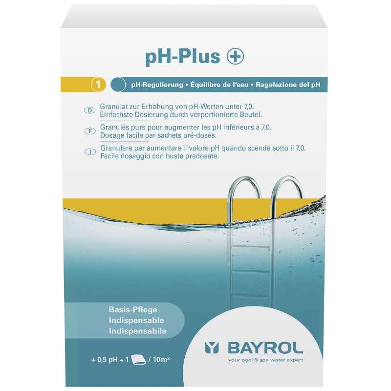 Bayrol pH Plus 1,5 kg Granulat 3 x 500 g Beutel zur Erhöhung des pH Wert 1194812