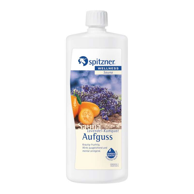 Spitzner Saunaaufguss Lavendel Kumquat 1 Liter 8850071