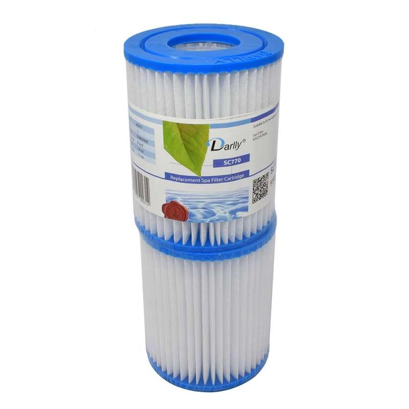 Darlly SC770 Filter Ersatzfilter Lamellenfilter Laz Y Spa Whirlpool