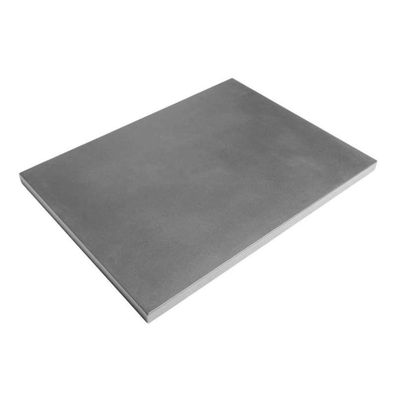 Happy Cocooning Mania Deckel grau für rechteckige Feuertische klein Schutzabdeckung 58,5x58,5x10 cm