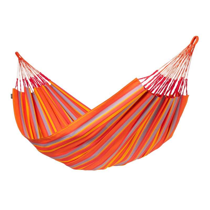 La Siesta Kingsize-Hängematte BRISA toucan orange Doppelhängematte XXL BRH18-28