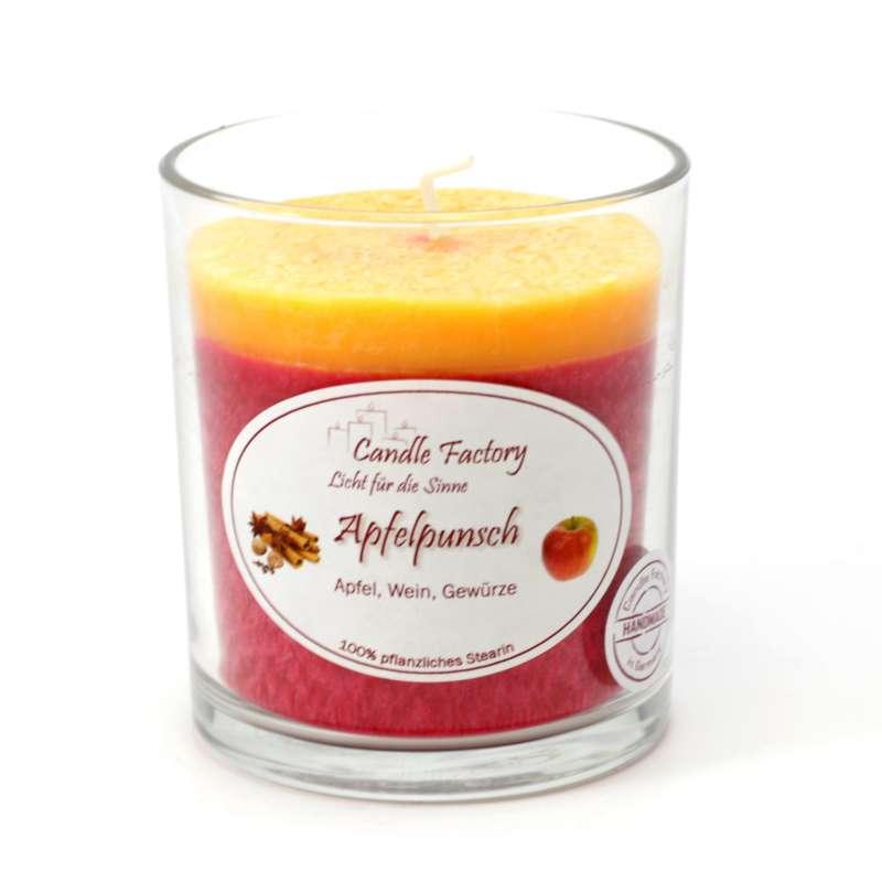 Candle Factory Party Light Kerze Apfelpunsch Duftkerze Dekokerze 201-082