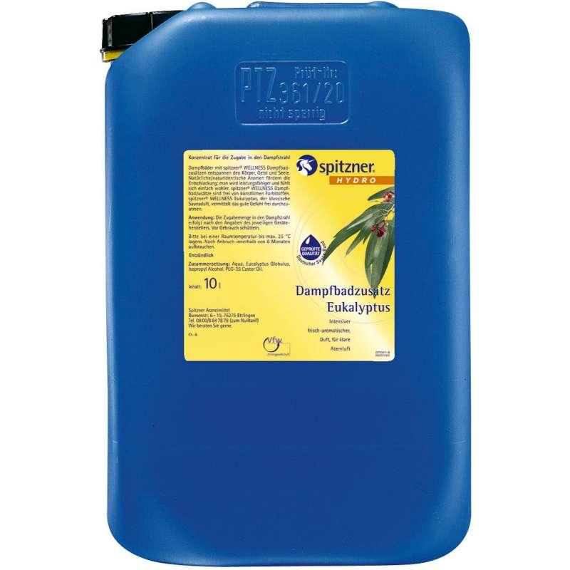 Spitzner Dampfbadzusatz 10 Liter Eukalyptus 7832053