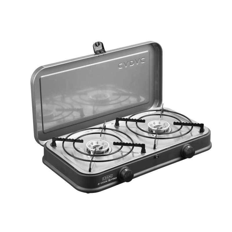 Cadac 2-Cook Pro Stove 30mbar BBQ Gasgrill Tischgrill Campinggrill 57 x 31 x 25 cm 202P0-10-EU