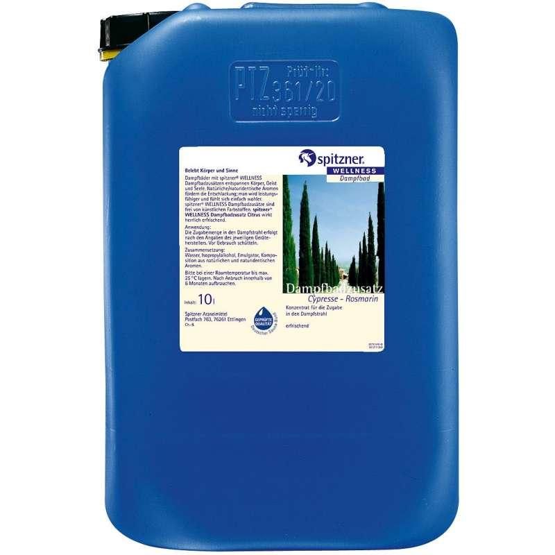 Spitzner Dampfbadzusatz 10 Liter Cypresse Rosmarin 8860002