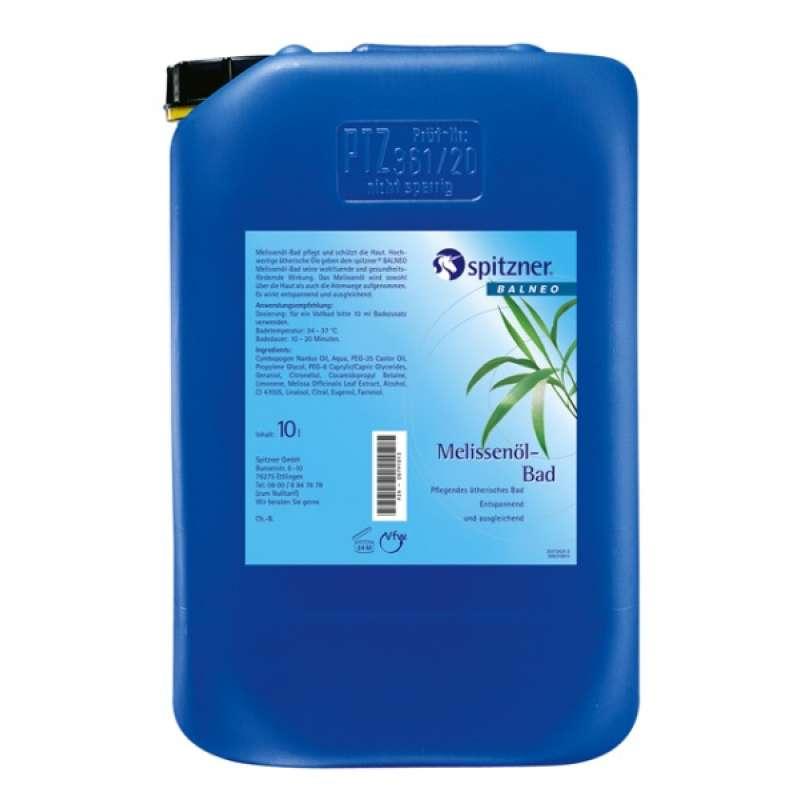 Spitzner Melissenöl Bad 10 Liter Ätherische und Extraktbäder 37229253