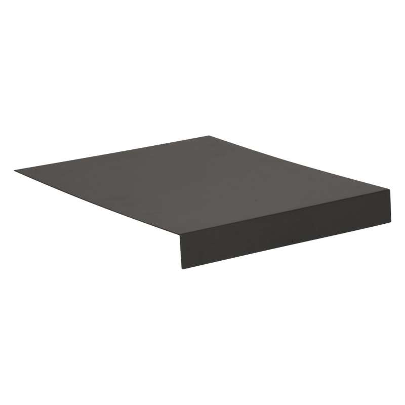 Stern L-Tablett Aluminium anthrazit 69x50 cm Serviertablett für Lounges