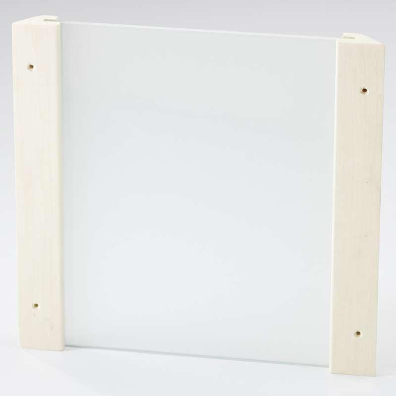 Infraworld Eckblendschirm Design Espe Mini ESG Glas Saunazubehör S2281