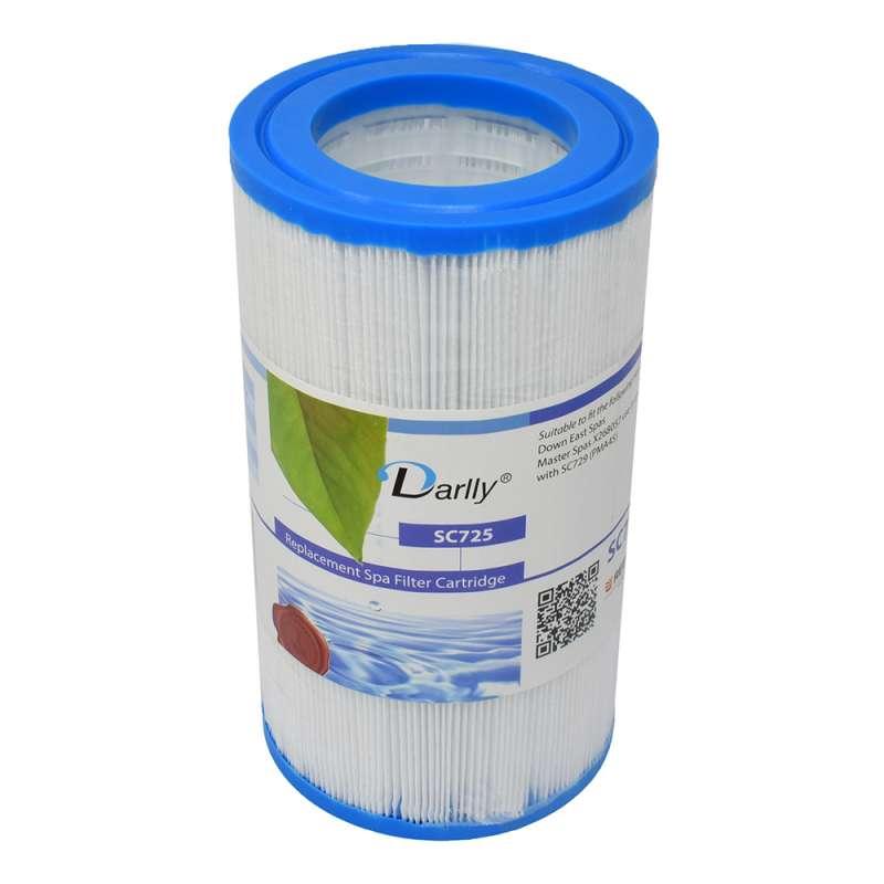 Darlly® Kartuschenfilter Ersatzfilter SC725 Whirlpool Down East Spas Master Spas