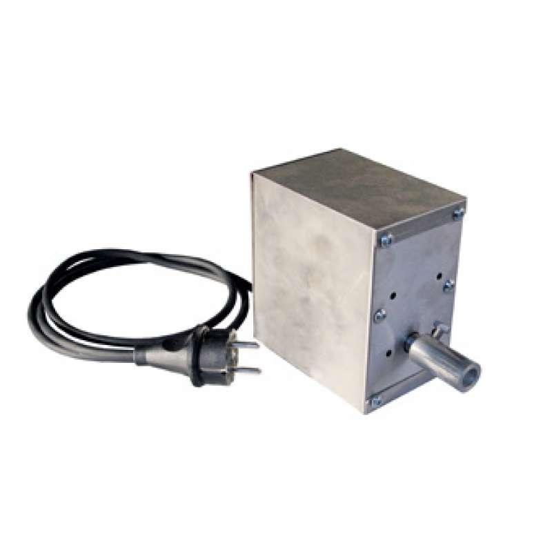Schneider Grillmotor für Grillgut bis 30 kg 230 Volt mit Gehäuse aus Edelstahl