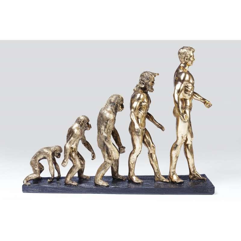 KARE Design Deko Figur Evolution hochwertiges Deko Objekt 60807