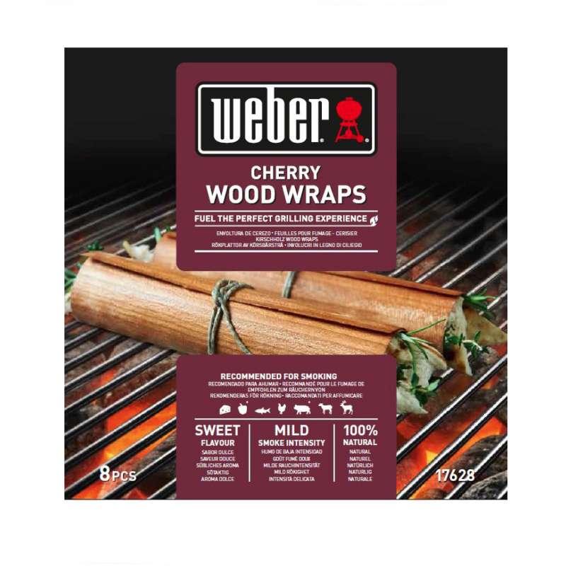 Weber Wood Wraps aus Kirschholz 8 Stück