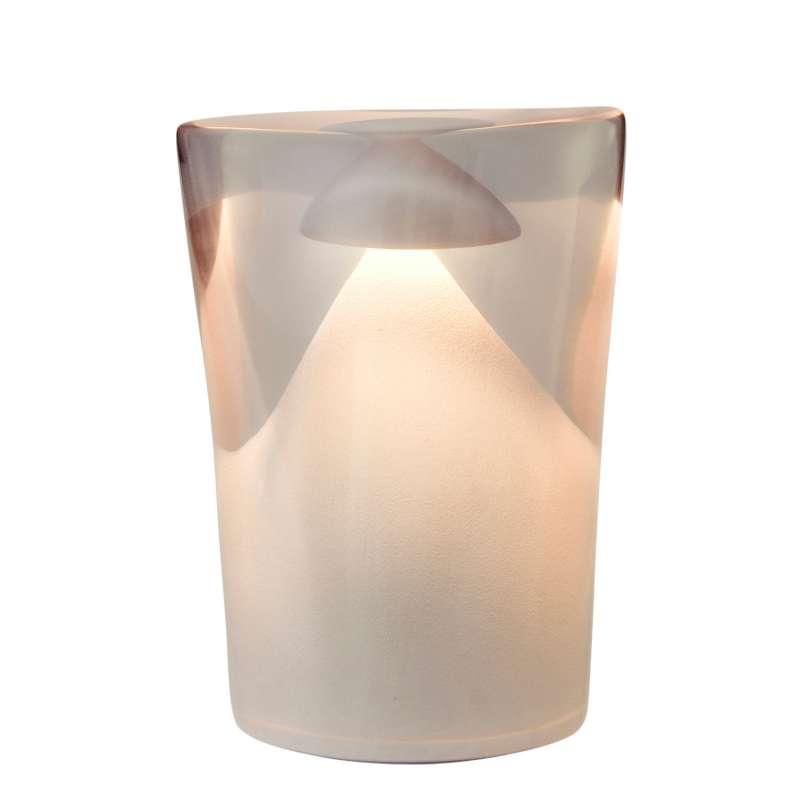 NEOZ kabellose Akku-Tischleuchte MEDUSA Resin PRO LED-Lampe dimmbar 1 Watt 19,5x14x11 cm