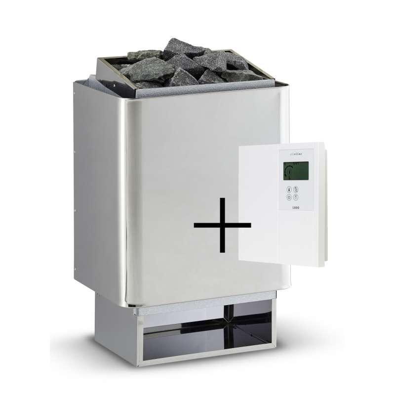 Infraworld Saunaofen 7,5 kW Hotline V4 inkl. Saunasteuerung Saunacontrol A