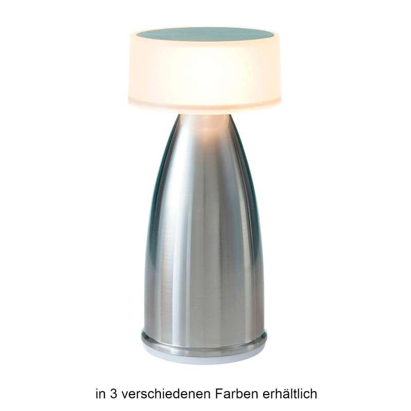 NEOZ kabellose Akku-Tischleuchte OWL 2 UNO LED-Lampe dimmbar 1 Watt 19x9 cm