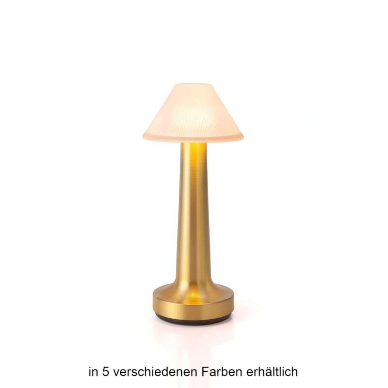NEOZ kabellose Akku-Tischleuchte COOEE 3 Uno LED-Lampe dimmbar 1 Watt 22x9,5 cm