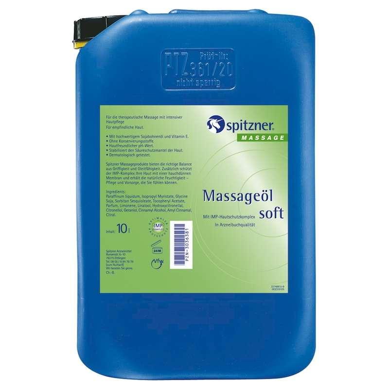 Spitzner Massageöl Soft 10 Liter 27406053