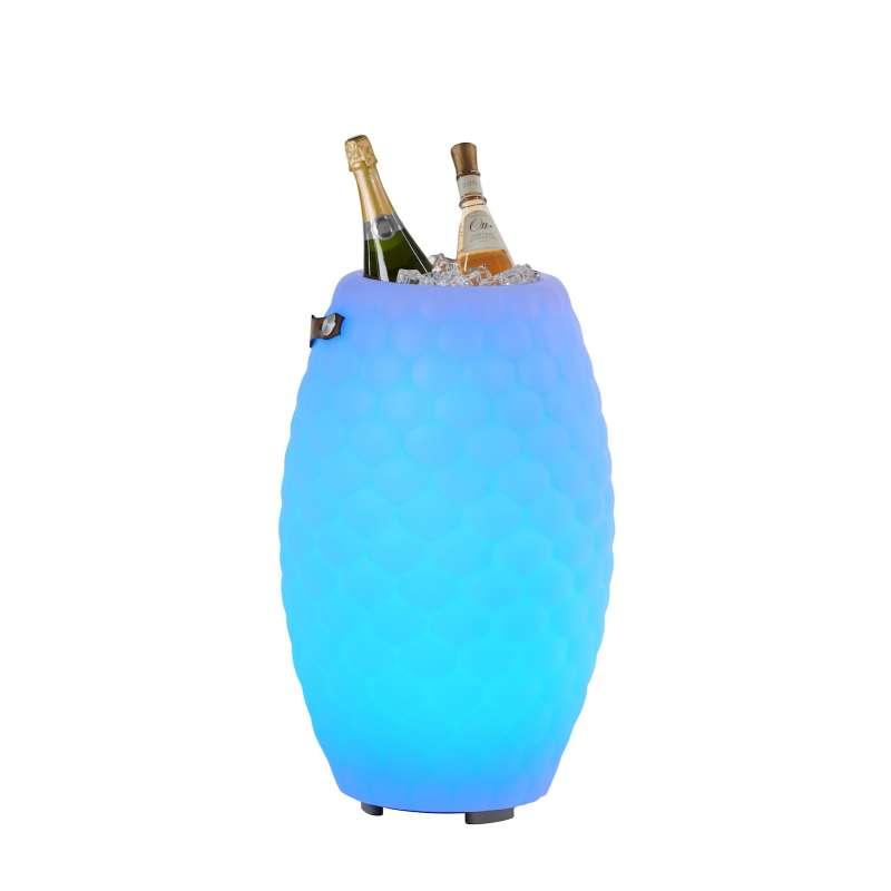 The Joouly 65 Limited Bluetooth Lautsprecher Farbwechsel Lampe mit Getränkekühler