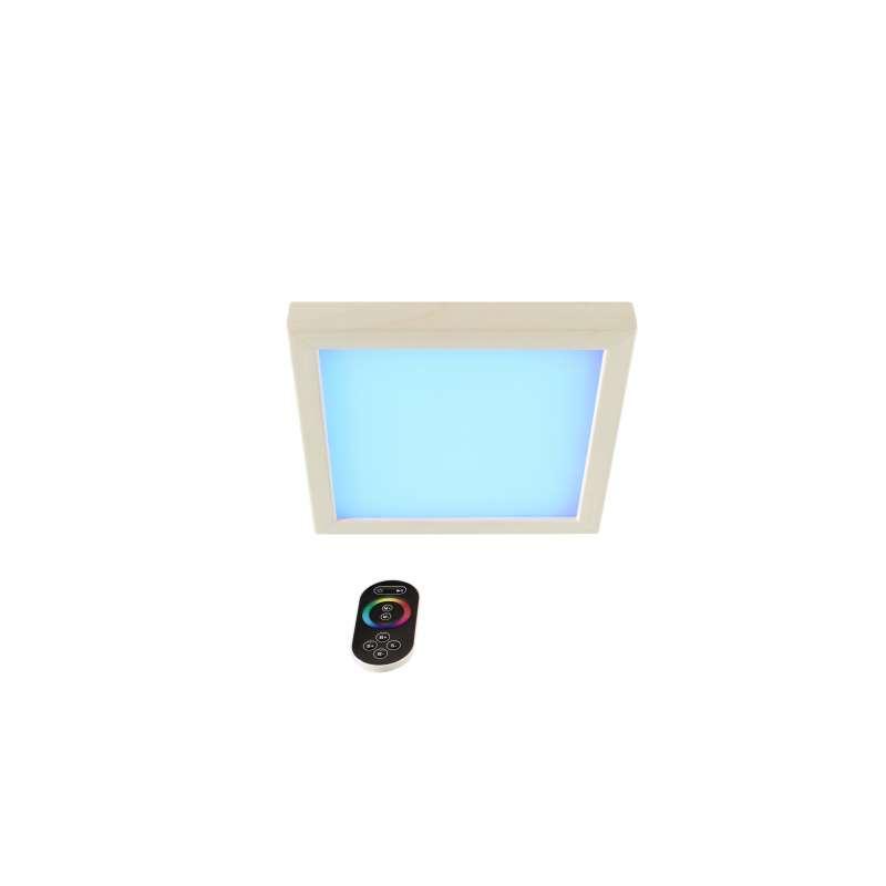 Infraworld LED Farblicht Sion 2A Erle Deckenmontage - EEK: B Spektrum A++ bis E - S2292A Farblicht