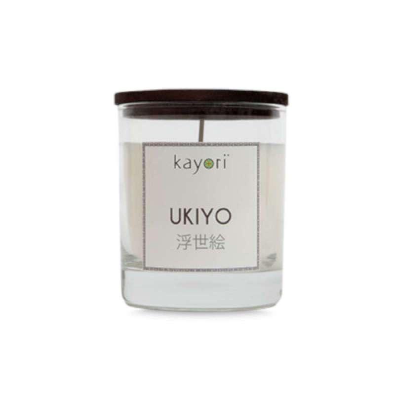 Kayori Duftkerze aus 100 % planzlichem Sojawachs Ukiyo 175 gr