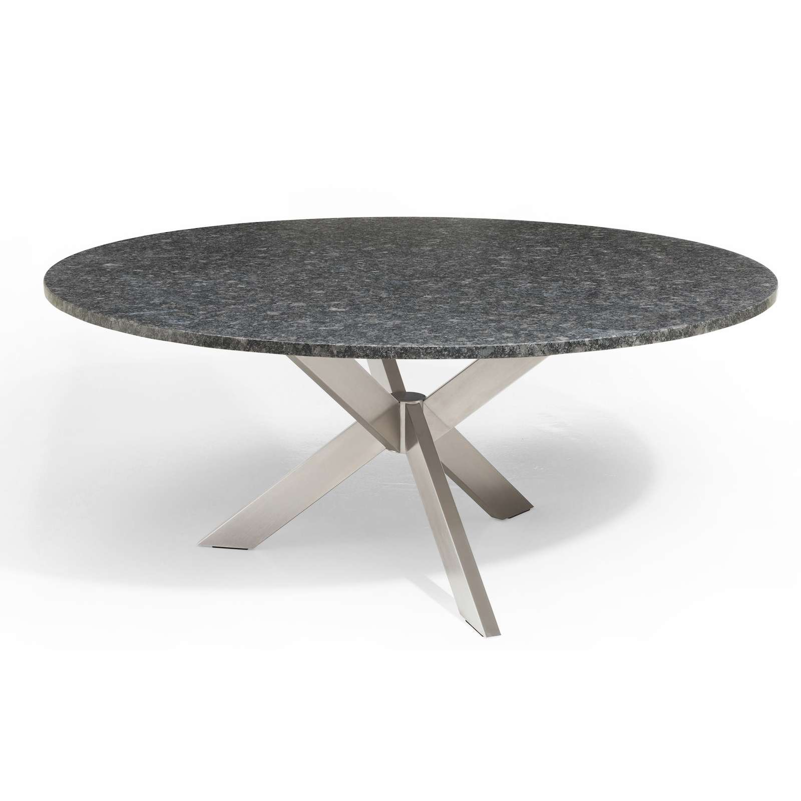 studio 20 havana granittisch rund 140 cm edelstahl gartentisch granitplatte. Black Bedroom Furniture Sets. Home Design Ideas