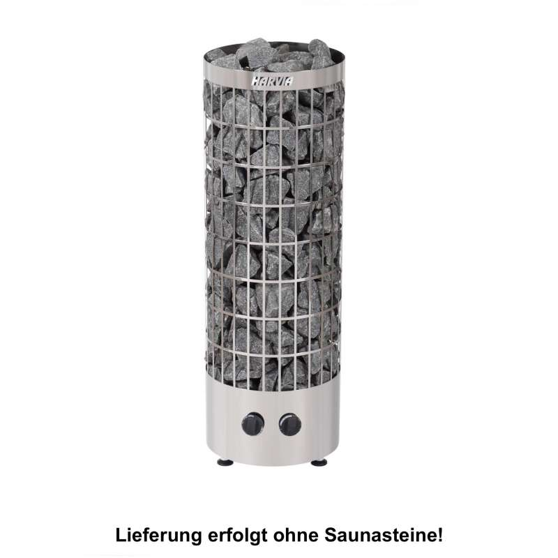 Harvia Saunaofen PC70 Cilindro 7,0 kW Edelstahl Elektroofen Saunaheizgerät