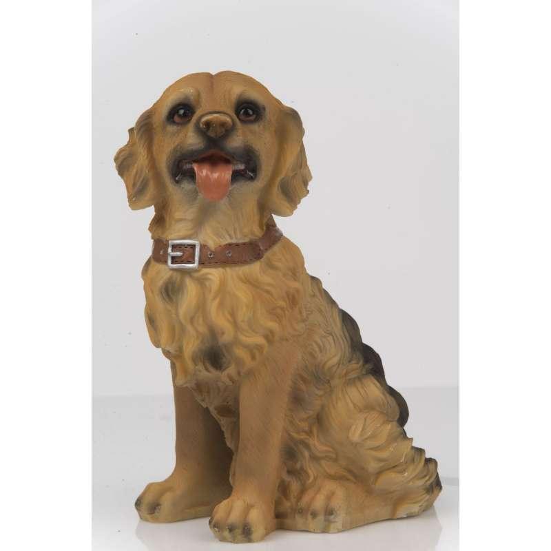 Hundefigur 22 cm Cocker Spaniel Dekofigur Tierfigur Deko Dog Zierfigur Polyhund
