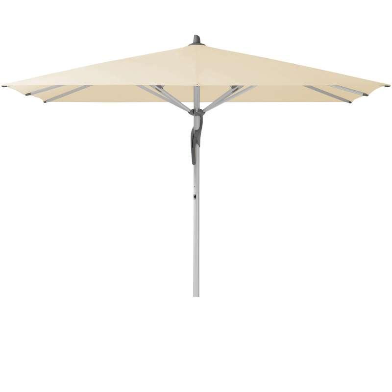 GLATZ Sonnenschirm FORTERO® easy quadratisch 250 x 250 cm Stoffklasse 2 Eggshell 150