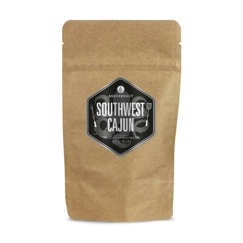 Ankerkraut Southwest Cajun BBQ Rub Gewürzmischung in der Tüte Nachfüllpack 250 g