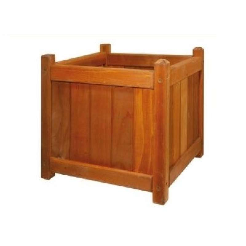 Softub Planter Pflanztopf 30 x 30 Redwoodholz passend zu Holzumrandung Softub