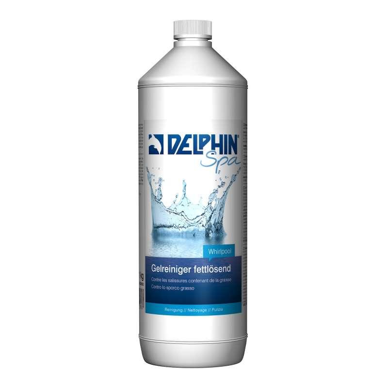 Delphin Spa Gelreiniger fettlösend 1 Liter Gel Reiniger für Whirlpool Whirlpoolpflege