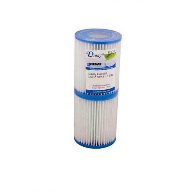 4 x Darlly® Filter Ersatzfilter SC770 Lamellenfilter Laz Y Spa Whirlpool