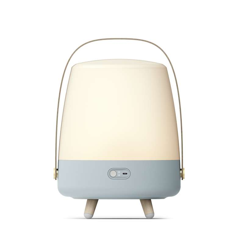 Kooduu Lite-up Play Sky Blue LED Standleuchte Dimmbar Kabelloser Bluetooth-Lautsprecher koppelbar