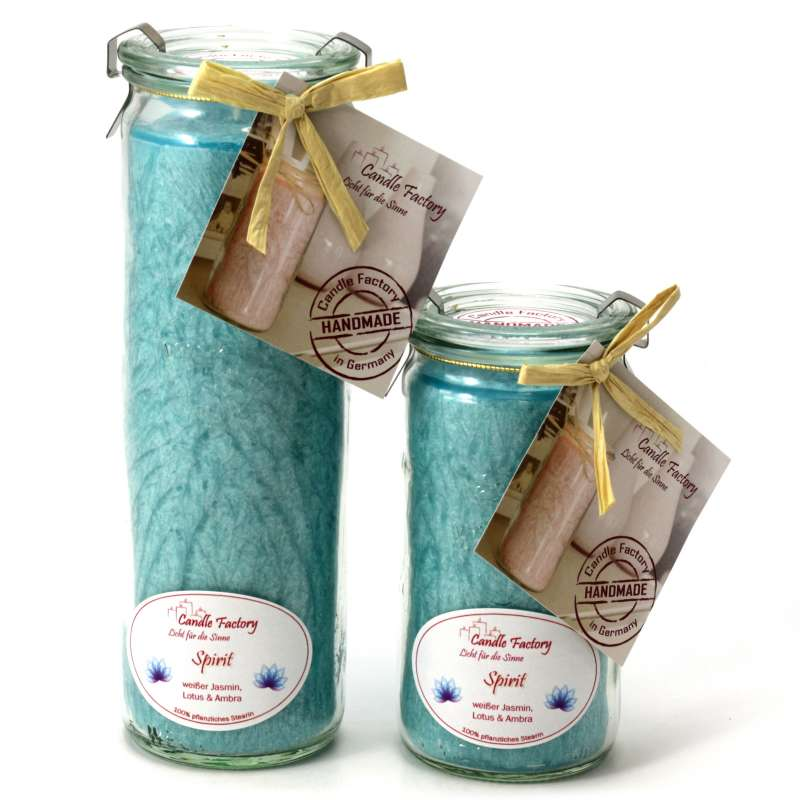 Candle Factory Kerzen-Set Spirit Big + Mini Jumbo Duftkerze Dekokerze