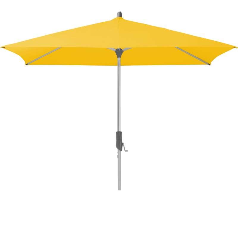 GLATZ Sonnenschirm ALU-TWIST easy 240 x 240 cm Stoffklasse 2 Bright Yellow 146