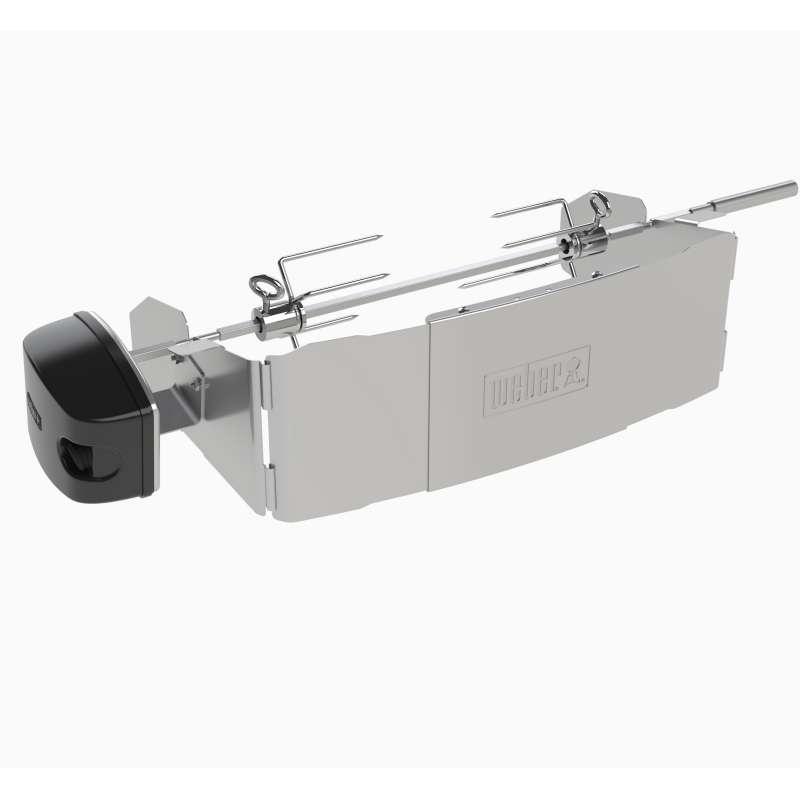 Weber Drehspieß für Elektrogrill Pulse 1000 und 2000 mit elektrischem Motor