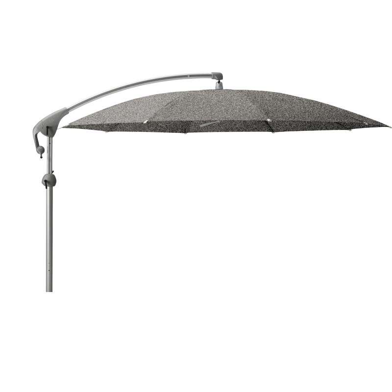 GLATZ Sonnenschirm PENDALEX® P+ rund ø 350 cm Stoffklasse 5 Platinum 667