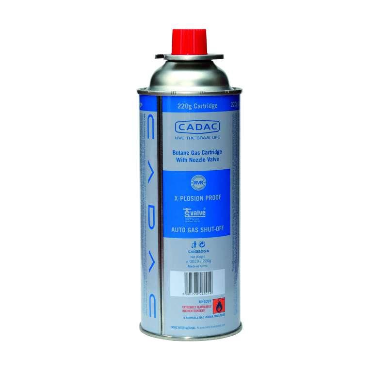 Cadac Gascartridge Gaskartusche Butan/Propan 220g EN417 CAN220G