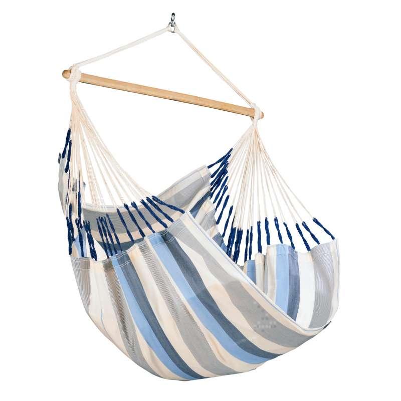 La Siesta Hängestuhl DOMINGO Comfort sea salt blau Lounger DOL18-13