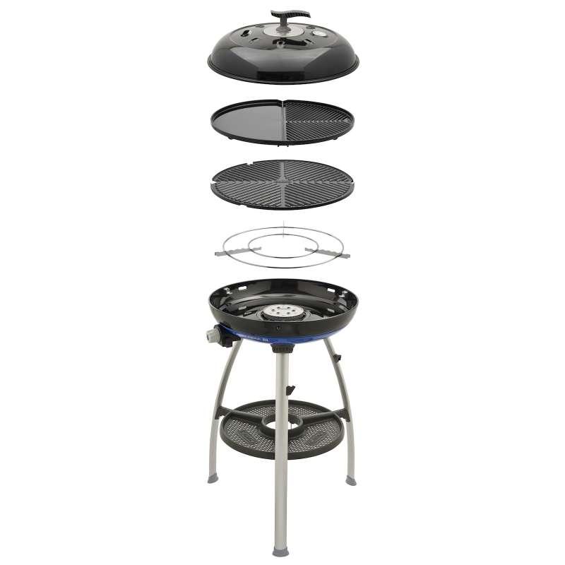 Cadac Carri Chef 50 BBQ Grill 2 Braai Gasgrill Campinggrill 50mbar ø 47 cm 8910-50-DE
