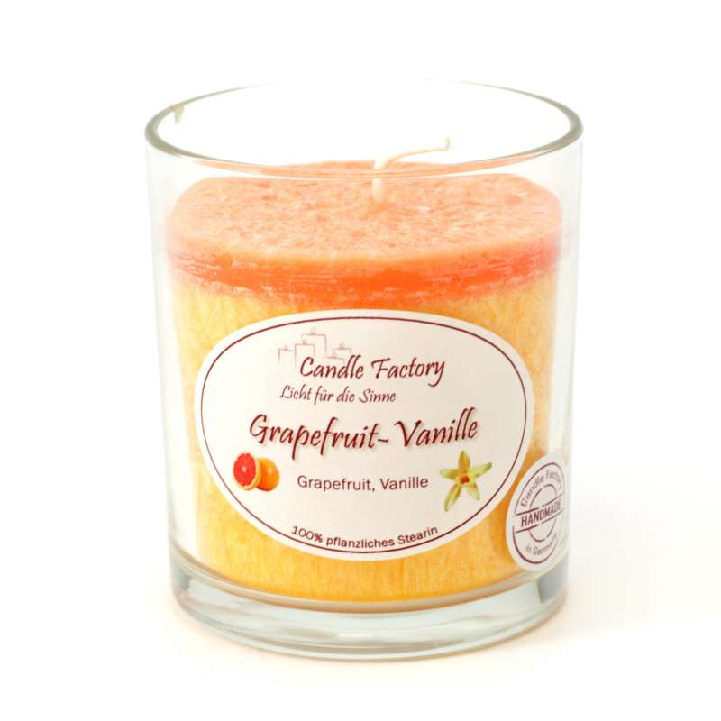 Candle Factory Party Light Kerze Grapefruit-Vanille Raumduft Duftkerze 201-066