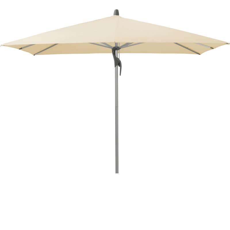 GLATZ Sonnenschirm FORTINO® quadratisch 240 x 240 cm Stoffklasse 2 Eggshell 150